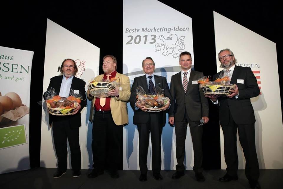 """Die Jury des Marektingpreises 2013 """"Gutes aus Hessen"""""""