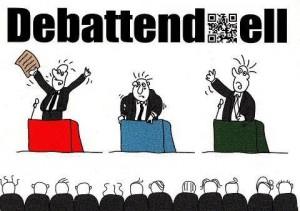 Debatten-Duell in der Romanfabrik @ Romanfabrik | Frankfurt am Main | Hessen | Deutschland