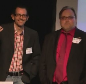 Ifuz und Dirk Engel Webmontag Offenbach