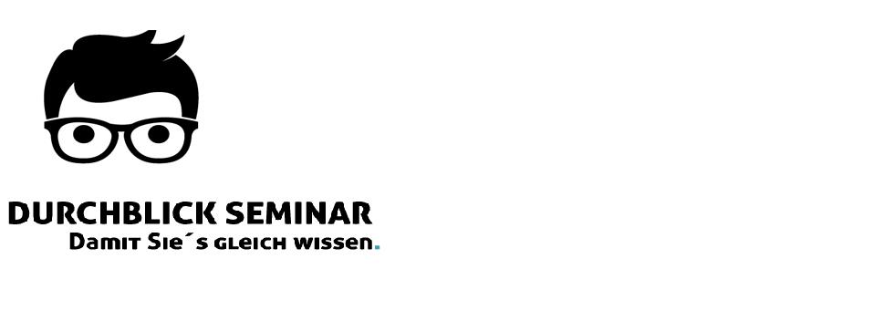 Durchblick-Seminare – Wissen kompakt vermittelt